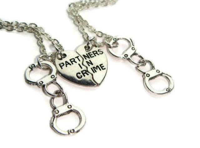 Valentines February Birthstone Amethyst Swarovski Friend Necklaces Friend Jewelry Friendship Jewelry