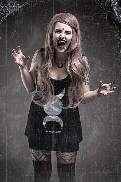 Nu Goth Vampire