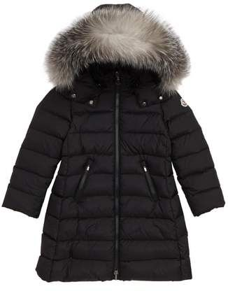 af3c6669a9d Winter Coats Moncler Abelle Down Coat with Genuine Blue Fox Fur Trim  ad  winter  coat