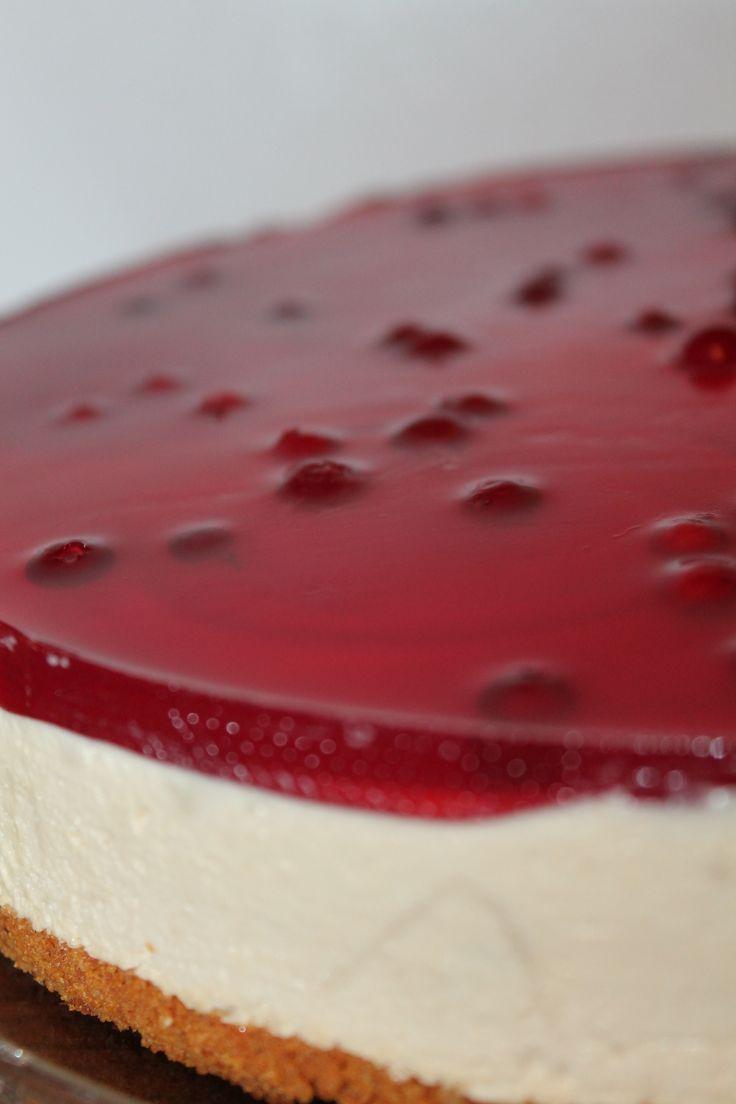 Puolukka-kinuski juustokakku <3