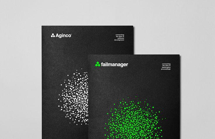 Aginco - Folder | by Skinn Branding Agency