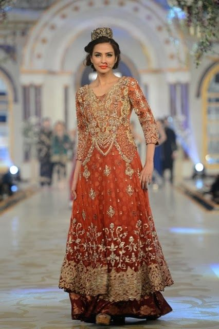 Pakistani Bridal Fashion - Pantene Bridal Couture Week PBCW 2013 - Saira Rizwan