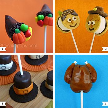 It's Thanksgiving idea week! I'll be bringing you loads of ideas all week for Thanksgiving food, crafts, and decor. Oh, and some free printables, too! : ) Ready to get started? Me too! Here's what's up first: Thanksgiving theme cake pops, marshmallow pops, and other ...