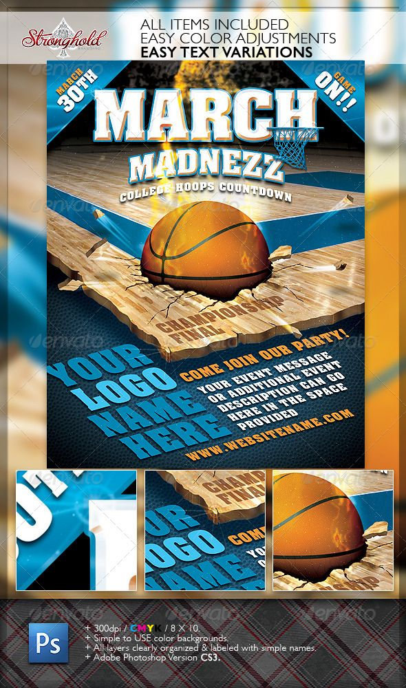 How To Make A 3 On 3 Basketball Flyer Frodofullring
