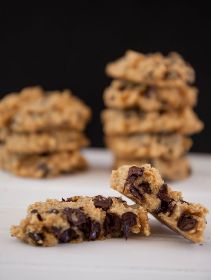 Healthy Chickpea Chocolate Chip Cookies — My Healthy Dish