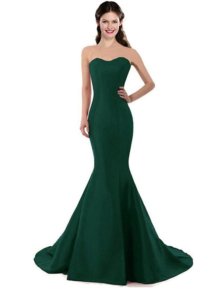 Solid color long dresses