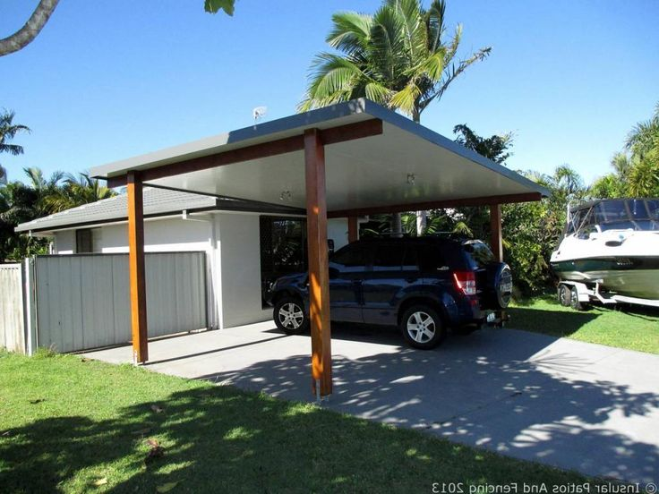 Modern carport designs simply modern carport design ideas for Carport garage designs