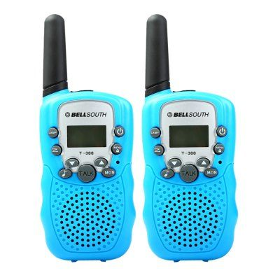 Just US$19.24 + free shipping, buy T-388 2pcs 22 Channel Walkie Talkie with Flashlight online shopping at GearBest.com.
