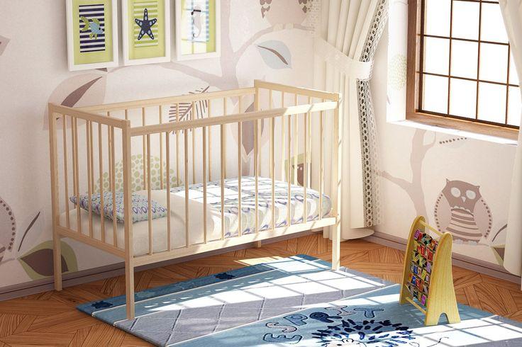 Детская кроватка Промтекс Колибри-Мини 120х60см
