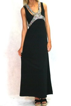 Living Doll new years eve black maxi dress $99.95 | threadsandstyle.com.au
