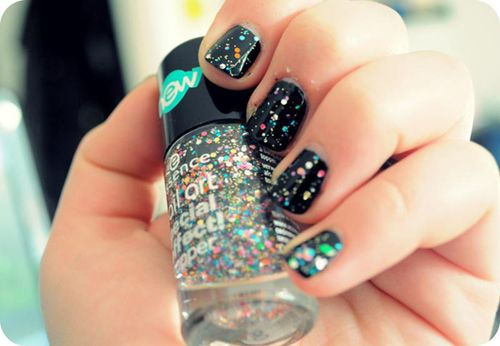 Essence Nail Art Special Effect TopperEssence Nails, Nails Art, Art Special, Beautiful Nails, Sparkle Nails, Glitter Nails, Splatter Nails, Nails Polish, Special Effects