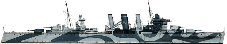 HMAS Australia (D84) was a County-class heavy cruiser of the Royal Australian Navy. (RAN)