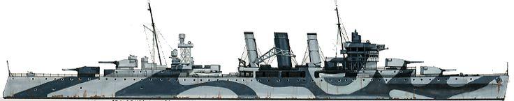 HMAS Australia (D84) was a County-class heavy cruiser of the Royal Australian Navy. (RAN)