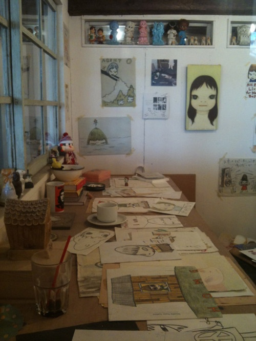 yoshitomo nara - one of my fave artists
