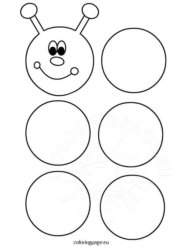 Printable Caterpillar Coloring Pages Printable Caterpillar Template Coloring Page Caterpillar Craft Toddler Learning Activities Preschool Learning Activities