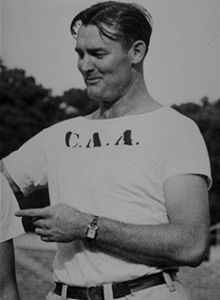 "James M.Tatum (1913-1959)........ (""Big Jim"") (""Sunny Jim"")........ Coach & Player - College & Professional - American Football Tackle & Baseball Catcher"