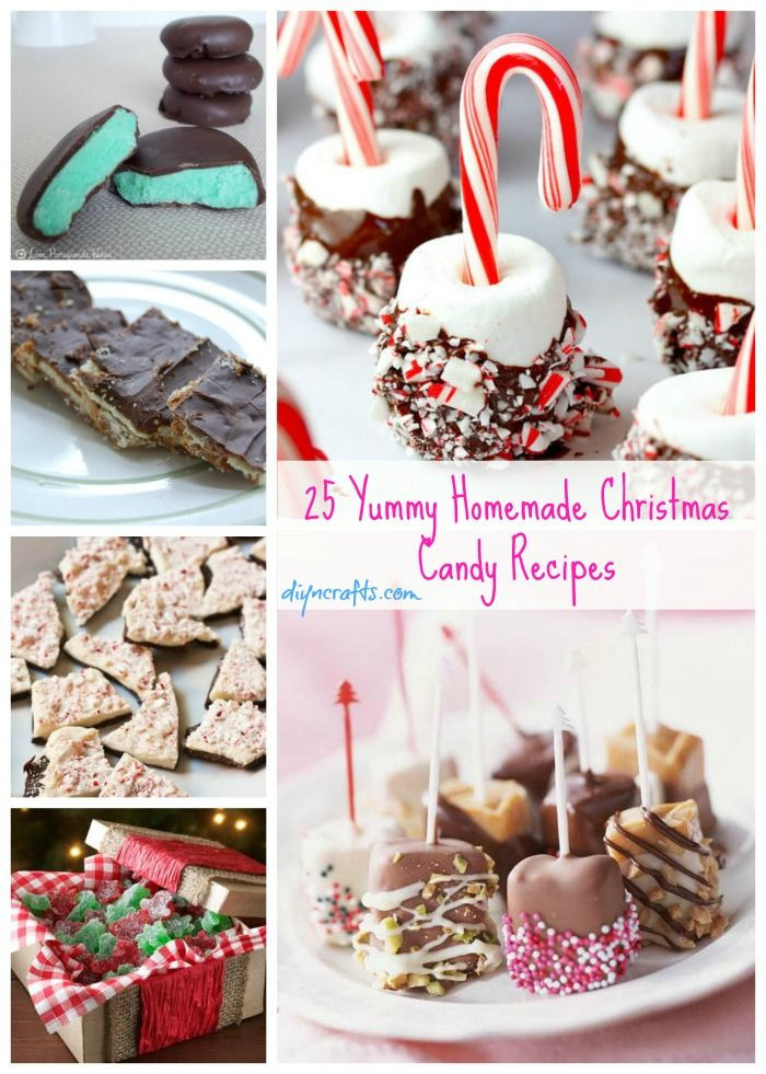 25 Yummy Homemade Christmas Candy Recipes – DIY Crafts
