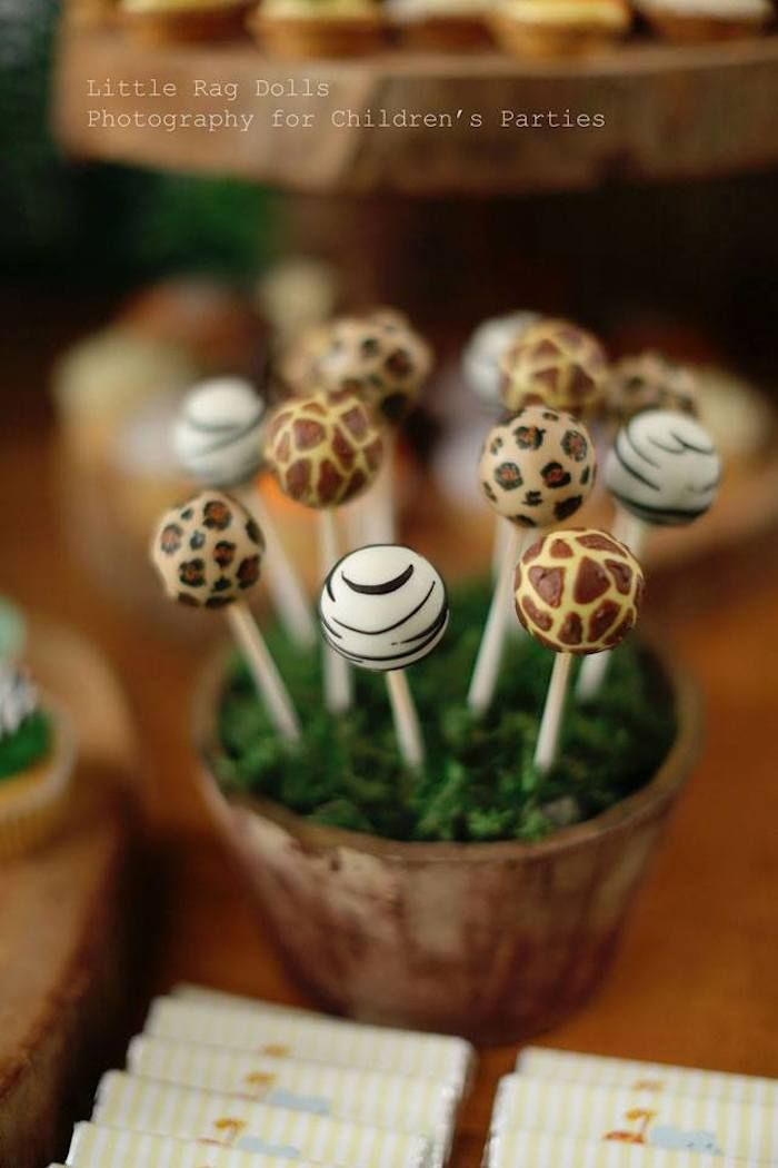 Jungle themed birthday party with Such Cute Ideas via Kara's Party Ideas