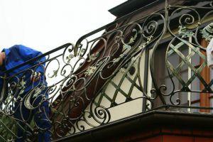 Balustrada balkonow wzór 77