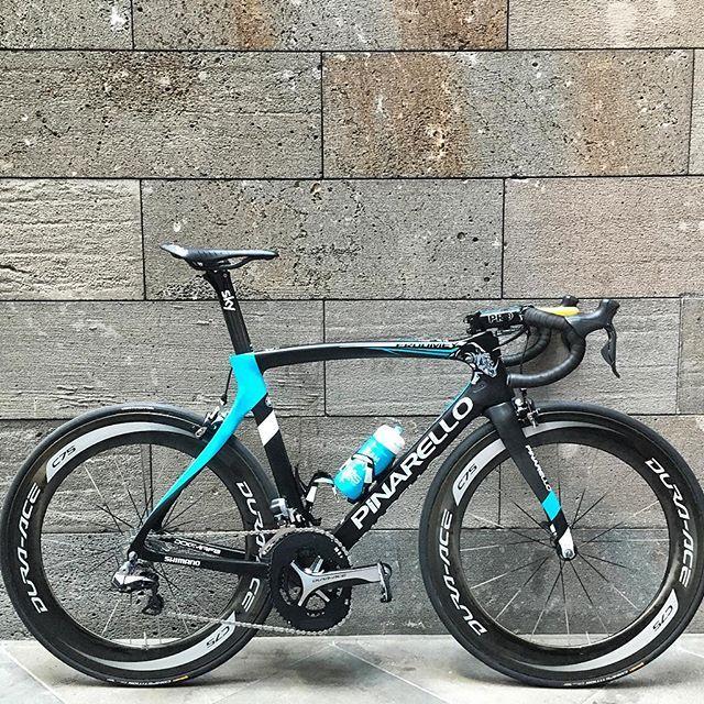 The bike Chris Froome will ride for the @heraldsuntour.