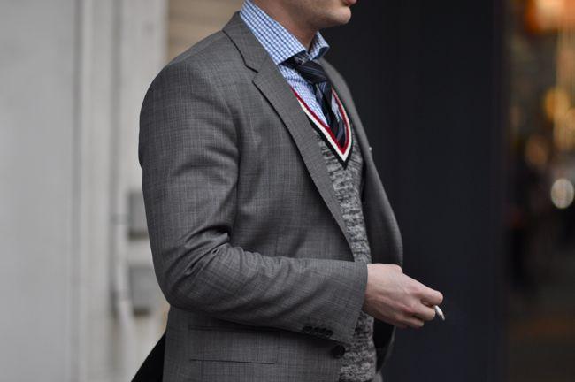 Jarre-Hugo-Boss dapperlou style suit