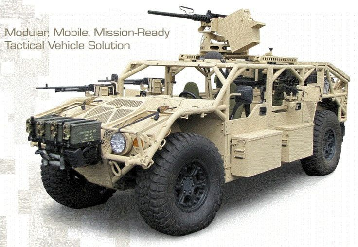 Tactical Vehicle - Awesome but not a lot of protection from incoming rounds.