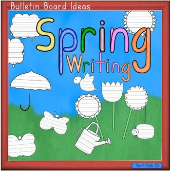 Motivate your writers with this fun Spring and Easter themed writing paper!  Put all the creations together to create a landscape for a great bulletin board.  Pages can be printed on colored paper.  These pages can be used with writing prompts or for use with a poetry unit.