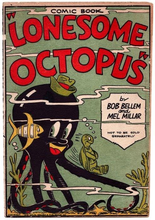 """Lonesome Octopus"" comic book."