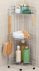 Stainless Corner Shower Caddy