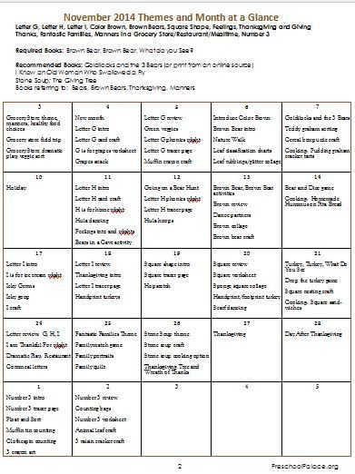 preschool curriculum essay