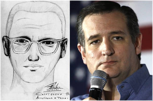 """Ted Cruz is the Zodiac Killer"": Senator ""confirmed"" as notorious murderer on Wikipedia as campaign gets new life"