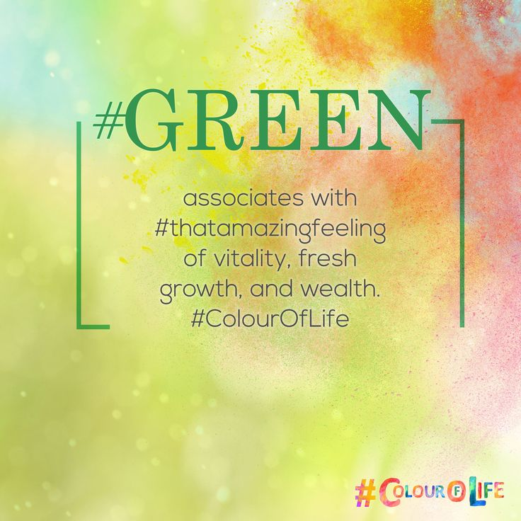 """#GREEN associates with vitality, fresh growth, and wealth. Generally the colour is thought to be as a balanced, healthy, and youthful. Adding Green to your designs for spaces intends #thatamazingfeeling to foster creativity and productivity, progress – think about giving Home the """"green light. This #Holi add #ColourOfLife #Green"""