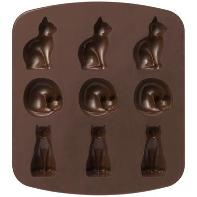 MUJI Japan Silicone Cake Mold [Cats Type]