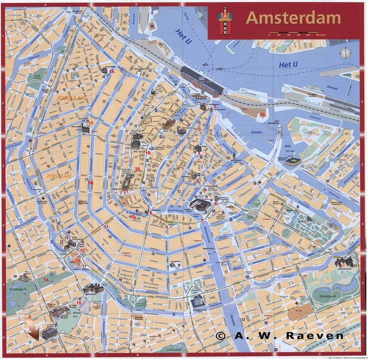 plattegrond amsterdam grachtengordel - Google zoeken