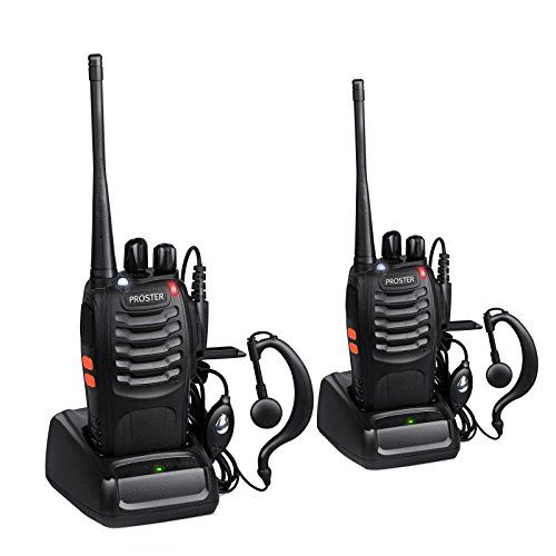 Proster Walkie Talkies Two Way Radio 16 Channels with Voice Prompt Rechargeable Walky Talky UHF 400-470MHz C No description (Barcode EAN = 0753807581370). http://www.comparestoreprices.co.uk/january-2017-2/proster-walkie-talkies-two-way-radio-16-channels-with-voice-prompt-rechargeable-walky-talky-uhf-400-470mhz-c.asp