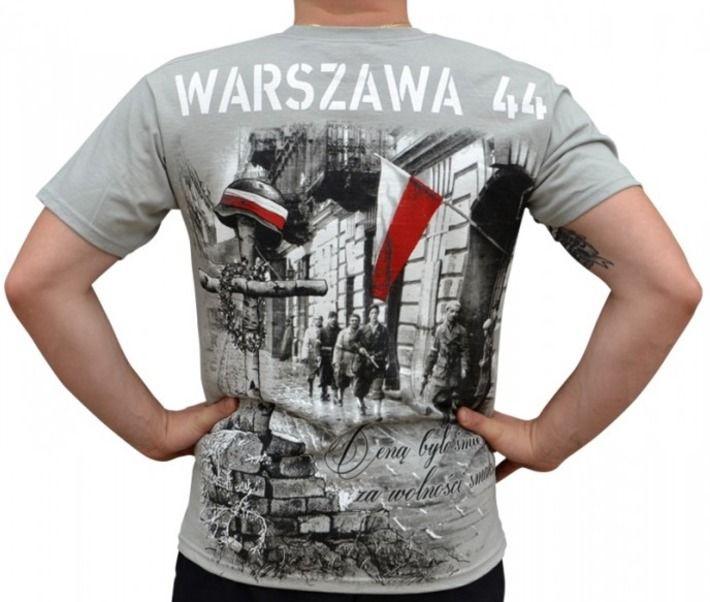 T-shirt patriotyczny 'Ceną była śmierć za wolności smak!' HD - tył ---> Streetwear shop: odzież uliczna, kibicowska i patriotyczna / Przepnij Pina!