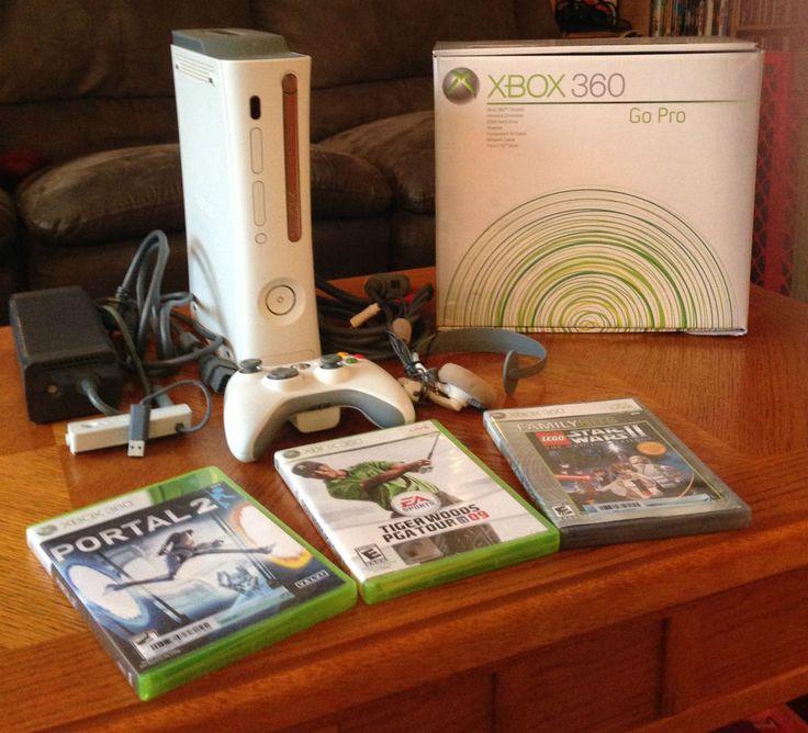 Microsoft Xbox 360 Pro 20 GB Matte White Console (NTSC) #Microsoft