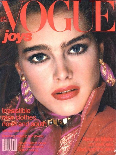 Brooke Shields 80s Most Famous Eyebrows Visagie2 Jaren