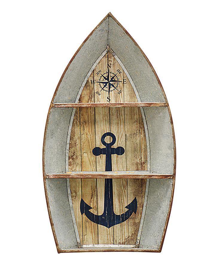 Look what I found on #zulily! Nautical Boat Shelf by StyleCraft #zulilyfinds