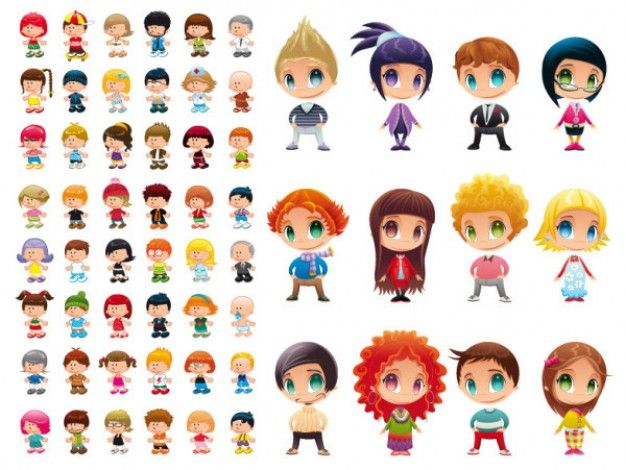 Cartoon Characters Ideas : The best ideas about cute cartoon characters on