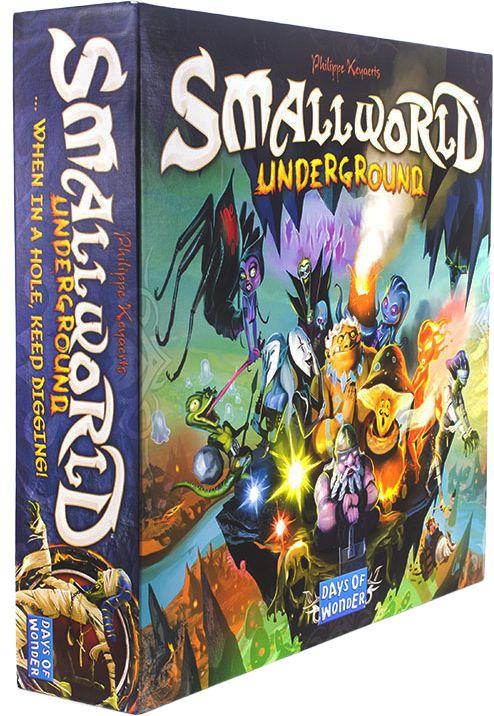 Small World: Underground (Маленький Мир: Подземелье). Коробка с игрой