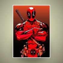 Poster Deadpool - 29x42cm Em Hd