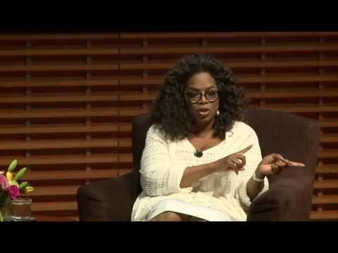 Oprah Winfrey on Career, Life and Leadership - YouTube