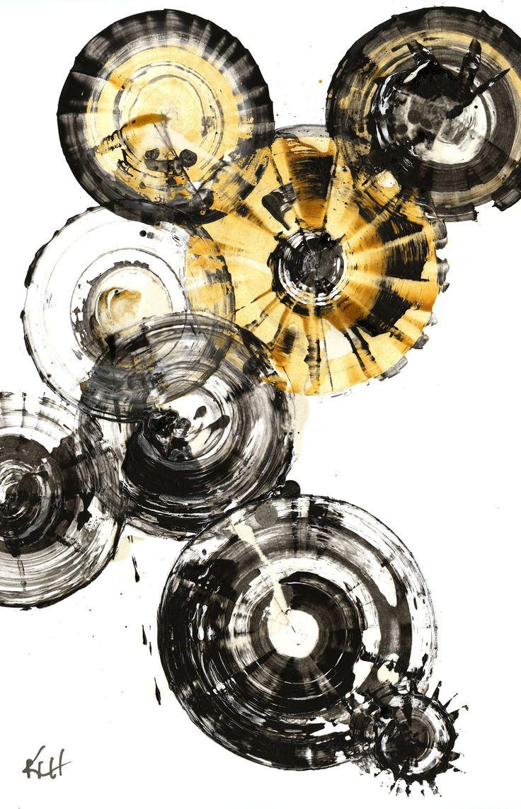 Modern Abstract Original Art -- Abstract Expressionism ----BTW, Please Visit: http://artcaffeine.imobileappsys.com