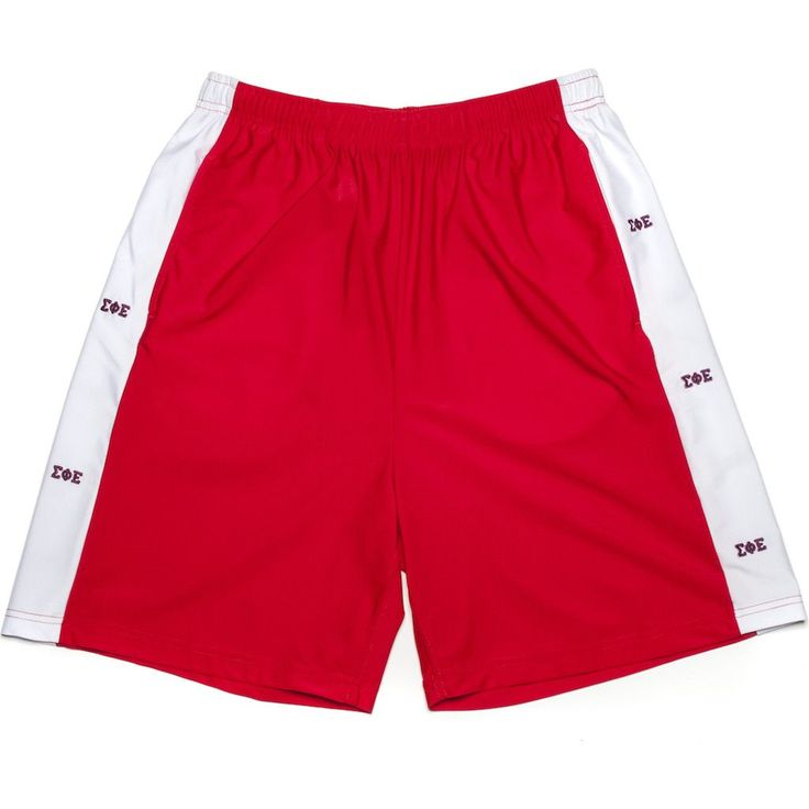 Sigma Phi Epsilon Shorts in Red by Krass & Co.