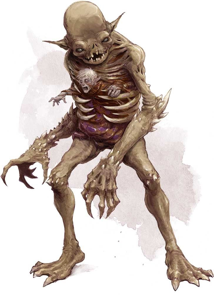 Pin By Dnd On Karten In 2020 Fantasy Monster Humanoid Creatures