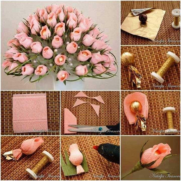 Конфет торта мамба для из цветы