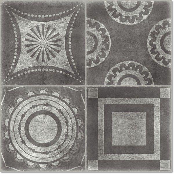 Kolekcja Kala - płytki podłogowe Decor Kala Grafito 44,7x44,7