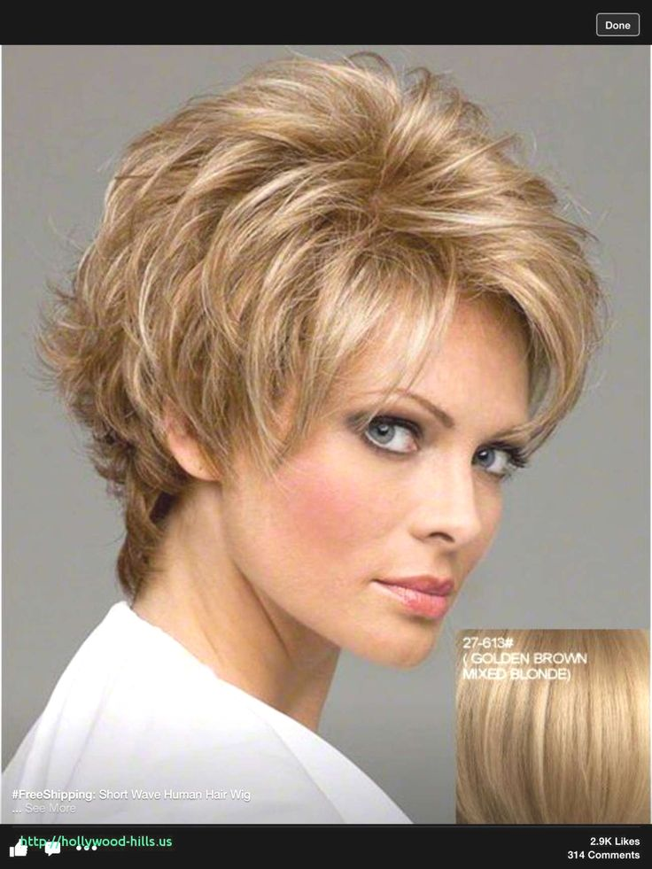 Short Hairstyles For Thick Hair Over 60 References