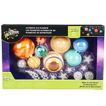 Edu Science - Glow in the Dark 35+ Piece Ultimate 3D Planets Set